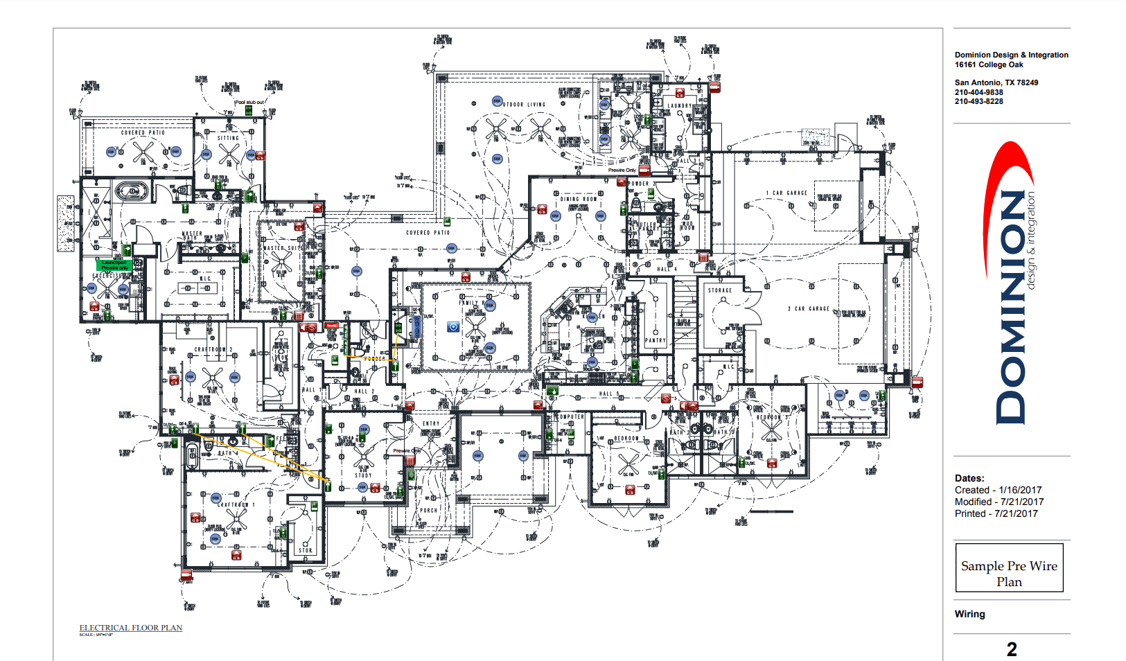 Smart Home Automation Schematic San Antonio