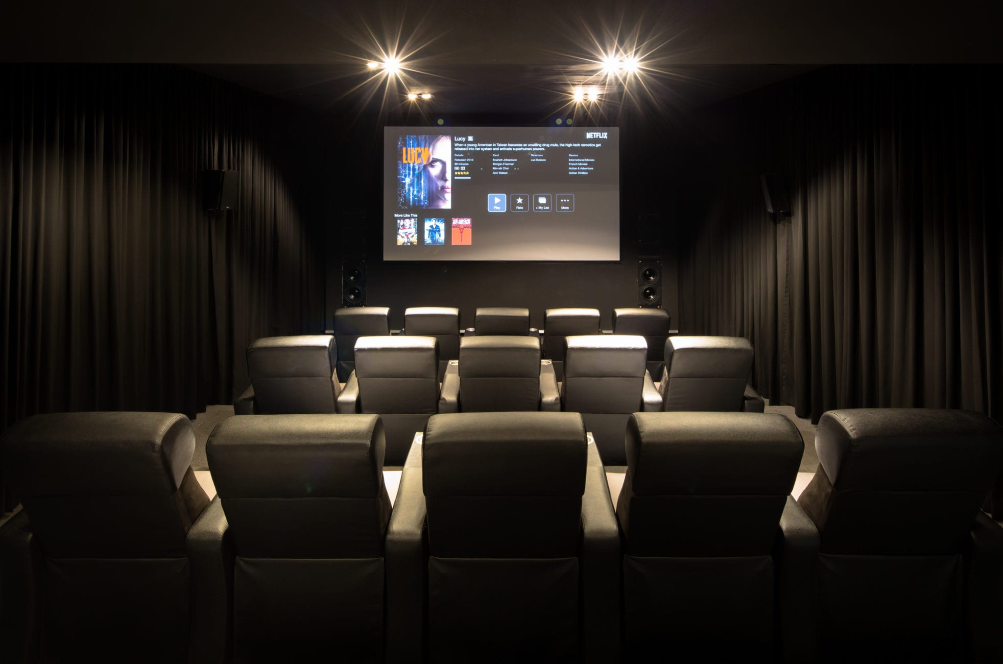 Experience <br>Home Theater